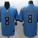 Marcus Mariota #8 Tennessee Titans Blue Limited Men's jersey M L XL XXL XXXL