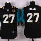 GRATZ #27 Jacksonville Jaguars Black Limited Men's jersey M L XL XXL XXXL