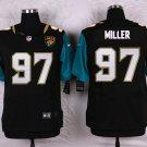 Roy Miller #97 Jacksonville Jaguars Black Limited Men's jersey M L XL XXL XXXL