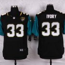 Chris Ivory #33 Jacksonville Jaguars Black Limited Men's jersey M L XL XXL XXXL