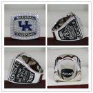 2012 UK Kentucky WildCats National Basketball Championship Ring 8-14S
