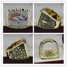 1997 Denver Broncos super bowl championship Ring 7-15S copper version ring