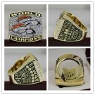 1998 Denver Broncos super bowl championship Ring 7-15S copper version ring