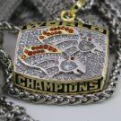 1997 Denver Broncos super bowl championship necklace with 22 inch chain8