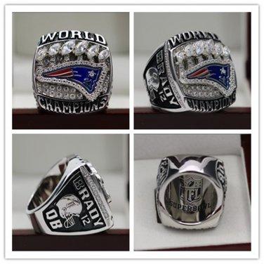 2019 New England Patriots Super Bowl Championship Ring 7 15s Tom Brady Ring