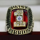 1990 UNLV REBELS Basketball National Championship Ring 8-14S