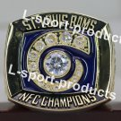 2001 St Louis RAMS NFC Football Championship Ring Size 8-14S choose copper ring