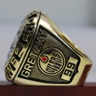 Custom your name&NO for 1987 EDMONTON OILERS Hockey Championship Ring 7-15S copper ring