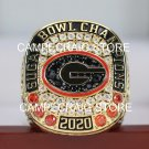2020 Georgia Bulldogs Sugar Bowl Football NCAA National CHAMPIONSHIP FAN RING 7-15S