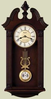 Bulova C4437 Ridgedale Traditional Wall Clock