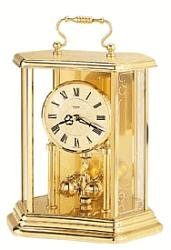 Bulova brass mantel clock