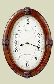 Bulova C3379 Brandon Wall Clock