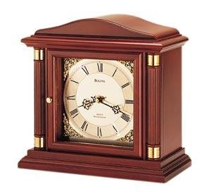 Bulova B1843 Bramley Single Chime Clock