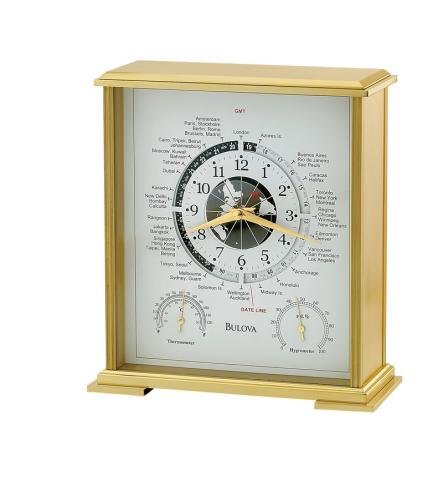 Bulova B2257 Clarkson Mantel Clock