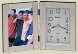 "Bulova B1275 Forte II Picture Frame Clock"""