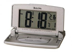 Bulova B6943 Avant II Travel Clock