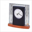 Bulova B7750 Frank Lloyd Wright - Glasner House Mantel Clock