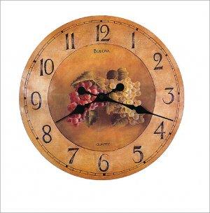 "Bulova 18"" Whittingham Fruit Wall Clock C3260"