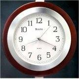 Bulova REEDHAM Clock with solid wood case - C4228