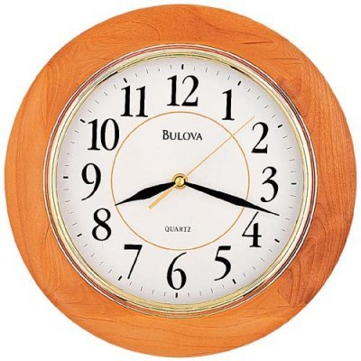 Bulova C4461 Madeline Honey Wall Clock