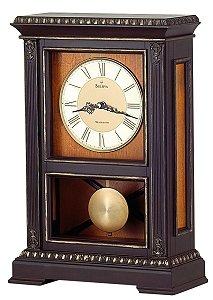 Bulova Whitmore Chiming Mantel Clock B7650