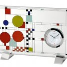 Bulova B7757 Frank Lloyd Wright Coonlye Playhouse Clock