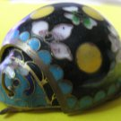 Very Cute Vintage Lady Bug Trinket Box