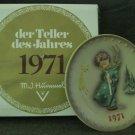 1971 M.I.  Hummel Annual Colectors Plate
