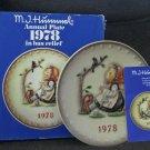 1978 Goebel Hummel Annual Plate