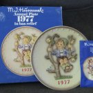 "1977 M. I. Hummel Annual Plate ""APPLE TREE BOY"""