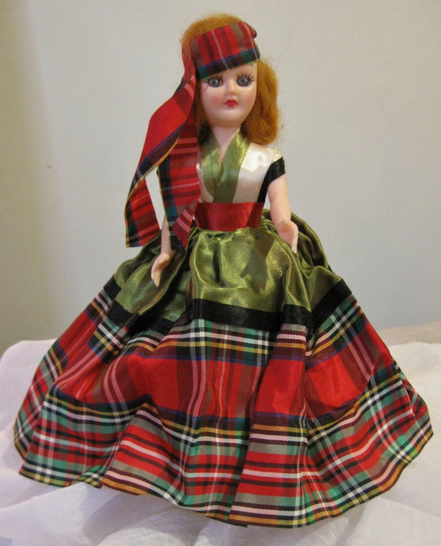 "Vintage 1960's dolls of the world doll ""Scotland"""