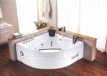 2 Person Indoor Hot Tub Jetted Bathtub Sauna Hydrotherapy Massage Spa Shower