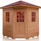 FIR Far Infrared 4 Four Person OUTDOOR SAUNA SPA Weight Loss