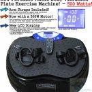 Whole Body Vibration Plate Exercise Machine Massage Platform Crazyfit