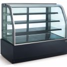 "New Curved Glass 36"" Refrigerated Cake Display Cooler Cold Bakery Pastry Case"