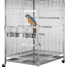 Extra Large 304 Stainless Steel Bird / Parrot Macaw Cage