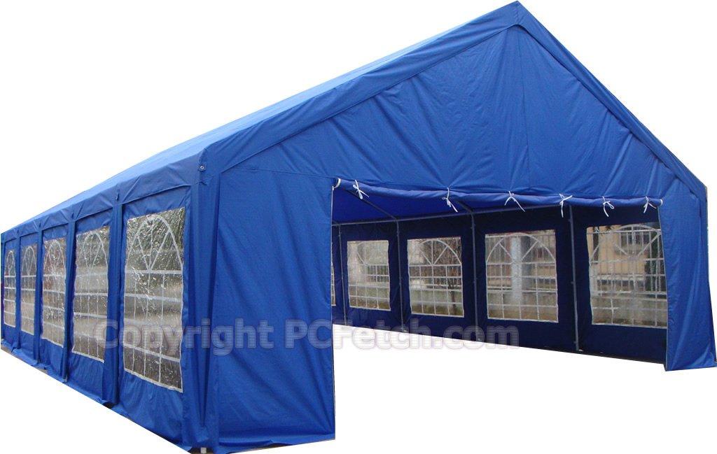 Tents Shelters Rentals : Ft outdoor wedding part tent gazebo carport