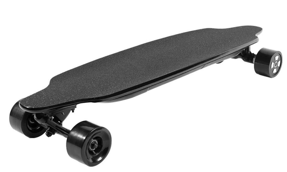 "NEW 38"" 1200W 36V Dual Hub Electric Skateboard Longboard Street Tires 25MPH Top Speed w/ Remote"