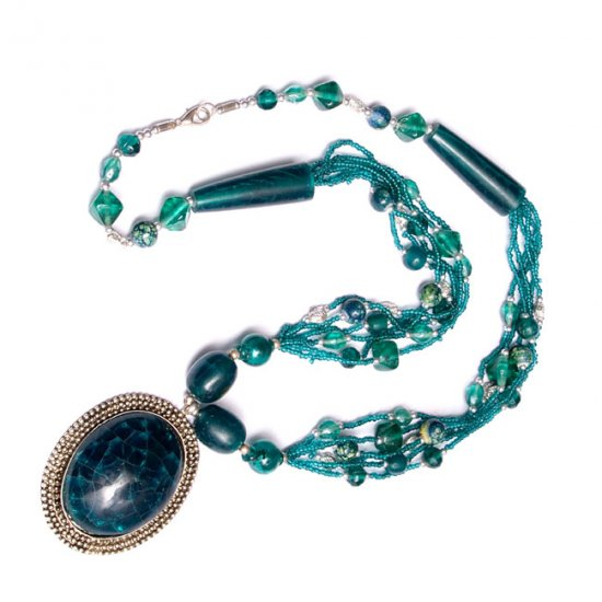 Turquoise Ice Necklace