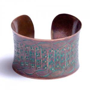 Trendy Copper Cuff Bracelet
