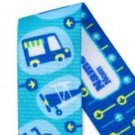 Transportation Elements Personalized Pacifier Clip -Blue, Boys