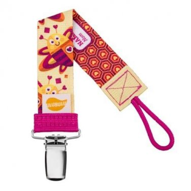 Bee Personalized Pacifier Clip - Girls