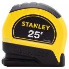 """New STANLEY 25' Leverlock Tape Measure 1"""" Width - Measuring Tape Rule - STHT30825"""