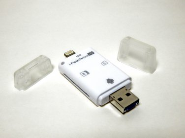 64GB microSD Card included with micro SD/TF Card Reader for iPad, iPhone