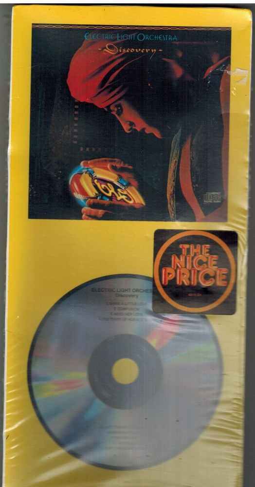 Discovery by Electric Light Orchestra ELO CD & LONGBOX Jet Records 074643576925