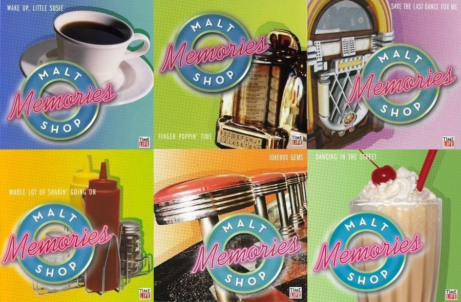 TIME LIFE Malt Shop Memories 11 CD LOT