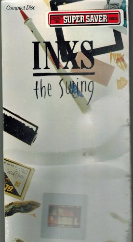 TARGET West Germany The Swing by INXS CD & LONGBOX ATCO