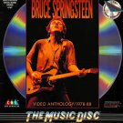 Bruce Springsteen Video Anthology 1978-88 LASERDISC NTSC