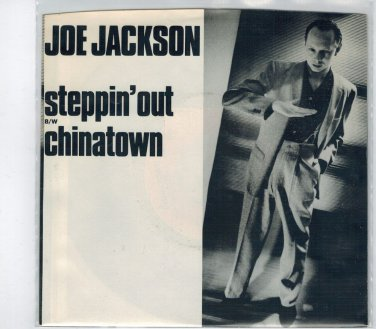 Joe Jackson - Steppin' Out 45 RPM Record + PICTURE SLEEVE