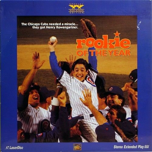 Rookie Of The Year LASERDISC NEW SEALED Chicago Cubs